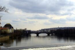 View from the Charles Bridge, World Traveler - October 2010