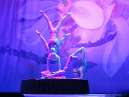 Incredible performance of a group of young girls. , holiday fanatic - March 2014