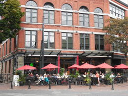 Don't miss Gastown, with the steam clock, and quaint cafes and shopping. Great photos here, it's charming. , PATRICIA S - October 2013