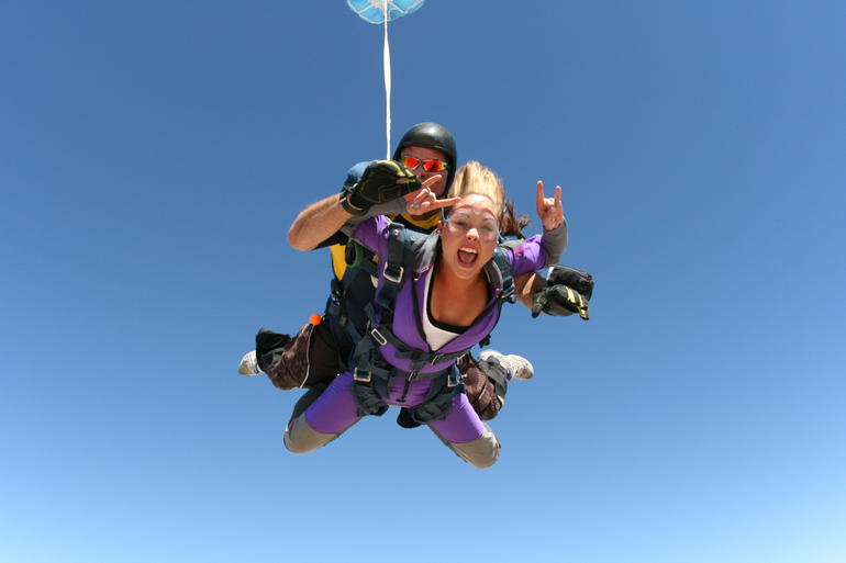 The ultimate adrenaline rush: skydiving! - Las Vegas