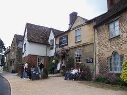 The George Inn, where we ate lunch, Robert M - July 2010