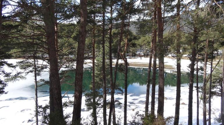 Lago congelado - Andorra - Barcelona