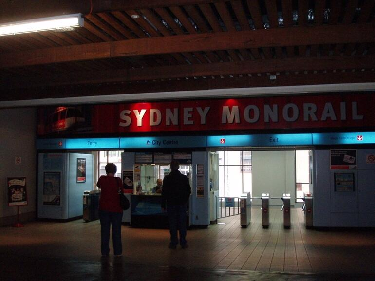 Monorail Station -