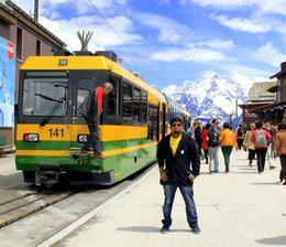 Stop to change trains , Vishal K - June 2013