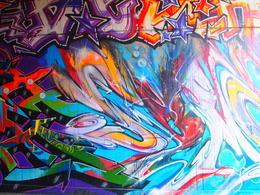 Stunning graffiti in Kreuzberg, Rachel - November 2013
