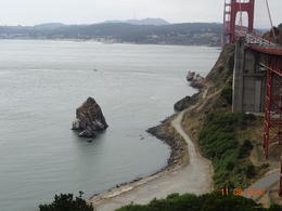 Get almost blown away by the wind when you see THIS view of the Golden Gate Bridge! , Ian A B - September 2014