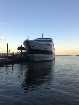 The cruise ship - November 2009