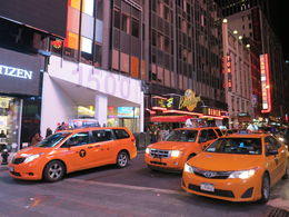 Lots of taxis, Patricia P - July 2015