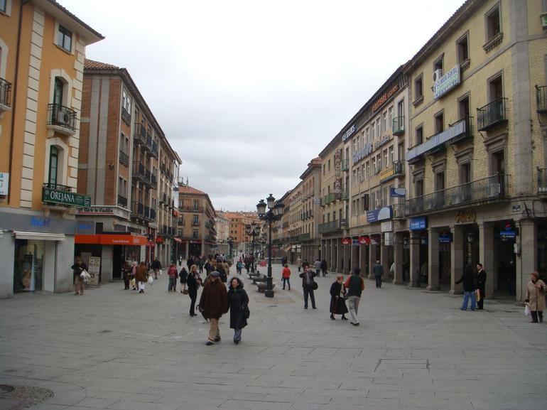 Town of Segovia - Madrid