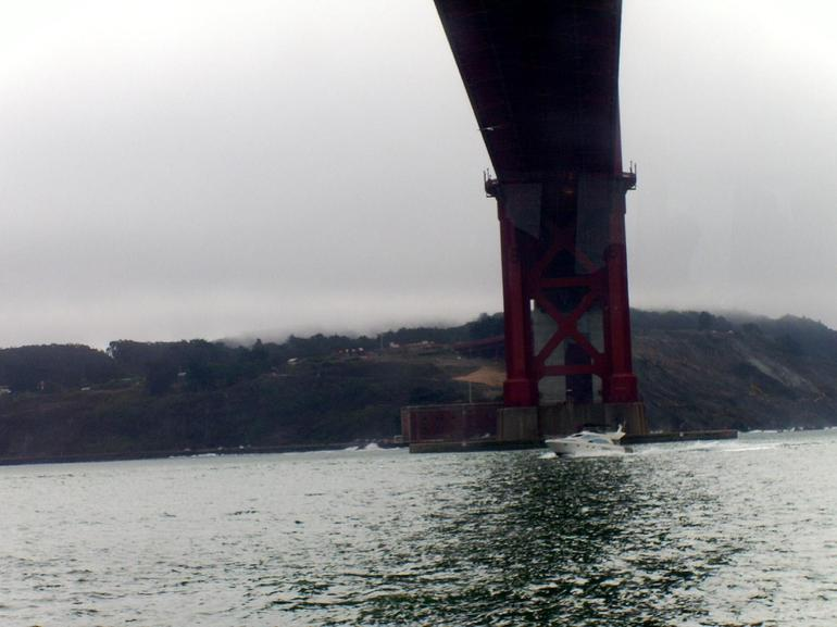 Under Golden Gate bridge - San Francisco
