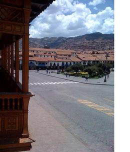 View of the main square in Cusco., Bandit - December 2010