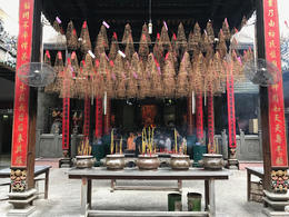 Thien Hau Temple of District 5 in Ho Chi Minh City, Vietnam , Nicholas A - January 2017