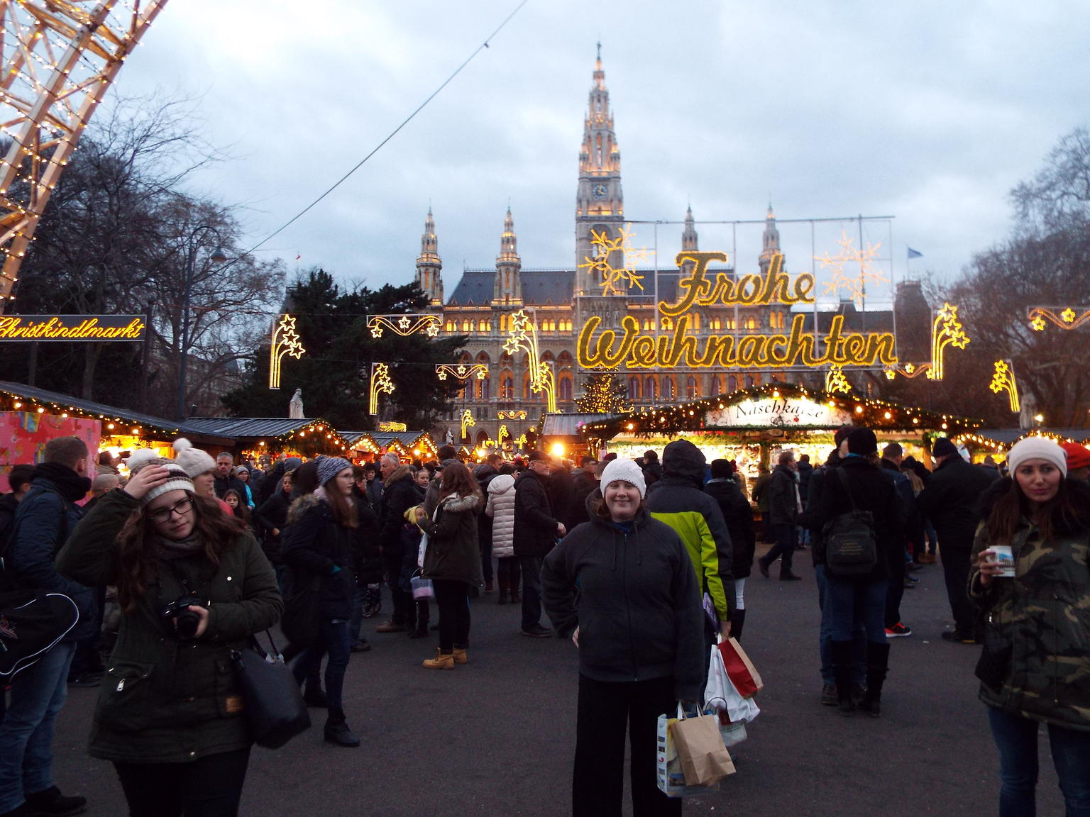 Christmas Market Shopping trip to Vienna, Prague and Budapest