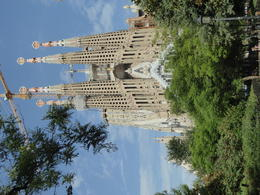 A view of La Sagrada Familia from a distance , Linda S - September 2017
