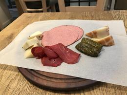 Enjoying a taste of Athens in Miran, a Greek delicatessen , Cindy C - October 2017