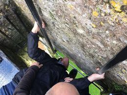 Kissing the Blarney Stone. , Brenda B - October 2017
