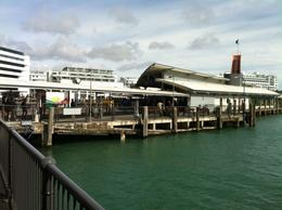 Auckland Harbour , Hulkie - January 2012