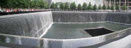 Photo of one the 9/11 Memorial Pools , Raymond C - July 2013