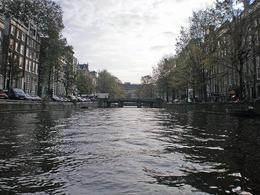 Cruising on the canals in Amsterdam. - May 2008