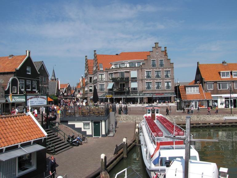 Arriving in Volendam - Amsterdam
