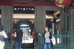 Chinatown's ancient Thian Hock Keng Temple , James A - February 2014