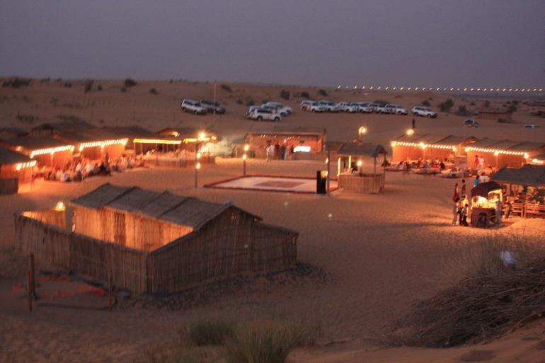Desert campsite - Dubai