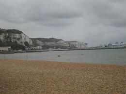 The White Cliffs of Dover from the beach - May 2010