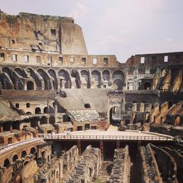 Impressive Inner Court of the Colosseum , Roy M - July 2013