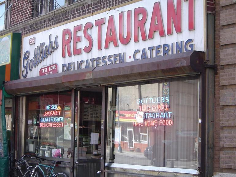 Gottleib's Kosher Deli in Old Williamsburg. - New York City