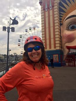 We bicycled through Luna Park - our guide gave us plenty of opportunities to stop for pictures and/or rest as needed. , jeanievan - September 2016