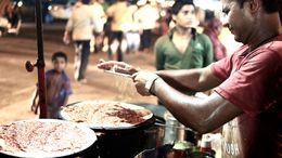 The Mumbai street food tour at night was fascinating - and delicious! , Donald F - June 2015