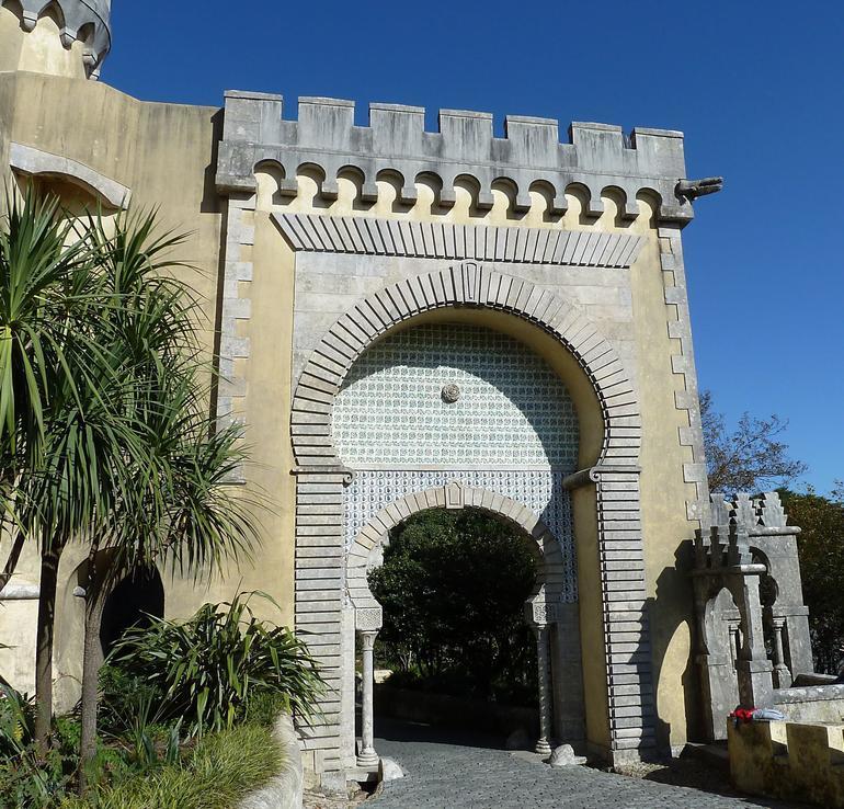 Pena Palace Gateway - Lisbon