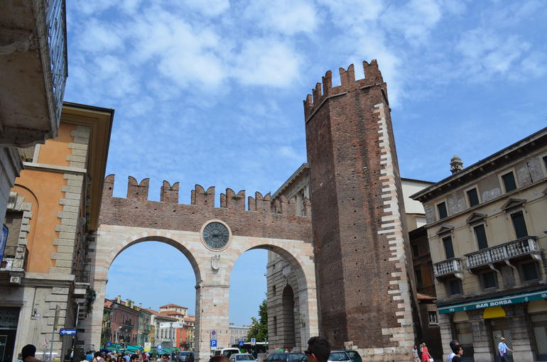 Pentagonal Tower - Verona
