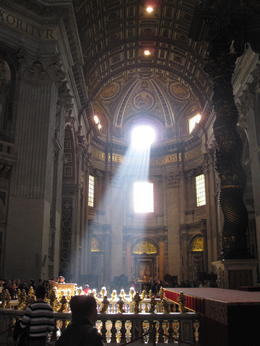 The Vatican with morning sunshine. , gw - December 2011