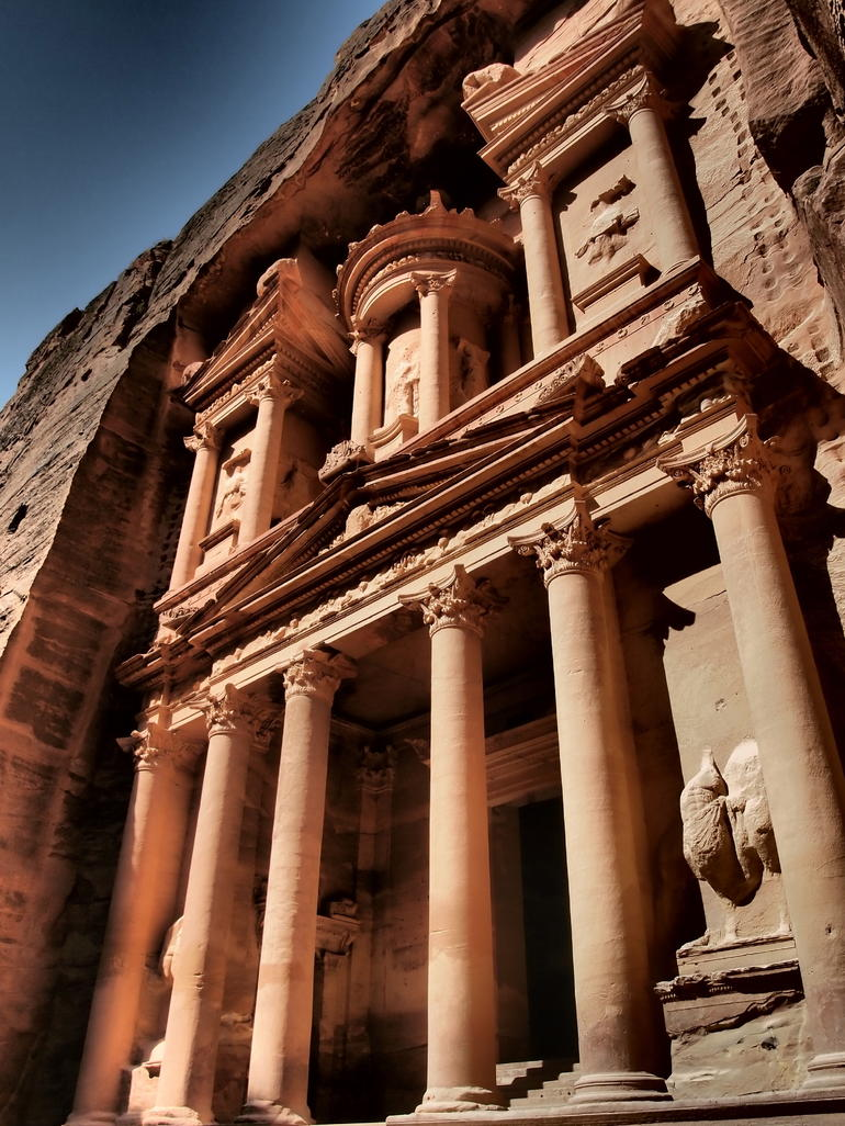 The Treasury, Petra - Amman