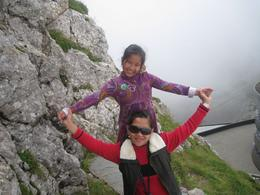 Wow for family - top of Mt. Pilatus, Miguelita A - August 2009