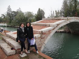 Torcello bridge, Blanca - June 2014