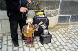 Puppeteer on the Charles Bridge, World Traveler - October 2010