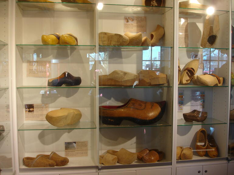 Wooden Shoe Exhibit March 2012 - Amsterdam