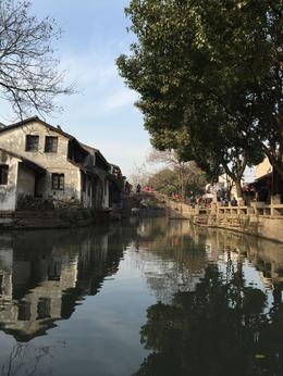 this was on a small boat ride in Zhouzhuang Water Village , Nitin G - January 2015