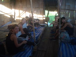 Our group in our hotel room in the Karen village. , Robert L - December 2016