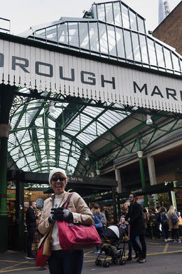 Michele at Borough Market. , KL1NGON - January 2017