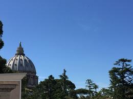 View on St Peter from Vatican Gardens. , janphvansanten - June 2017