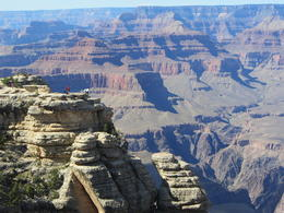 Grand Canyon from viewing point , Richard L - October 2017