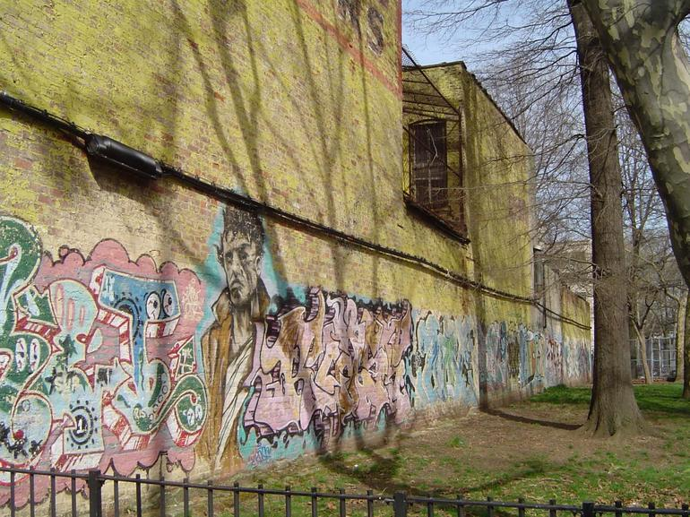A Wall of Graffiti - New York City