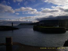A beautiful fishing harbor in Antrim, Northern Ireland., Lacey B - November 2008