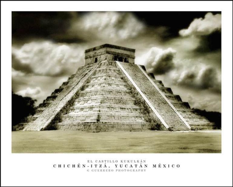 Castillo Kukulkan, Chichen-Itza - Cancun