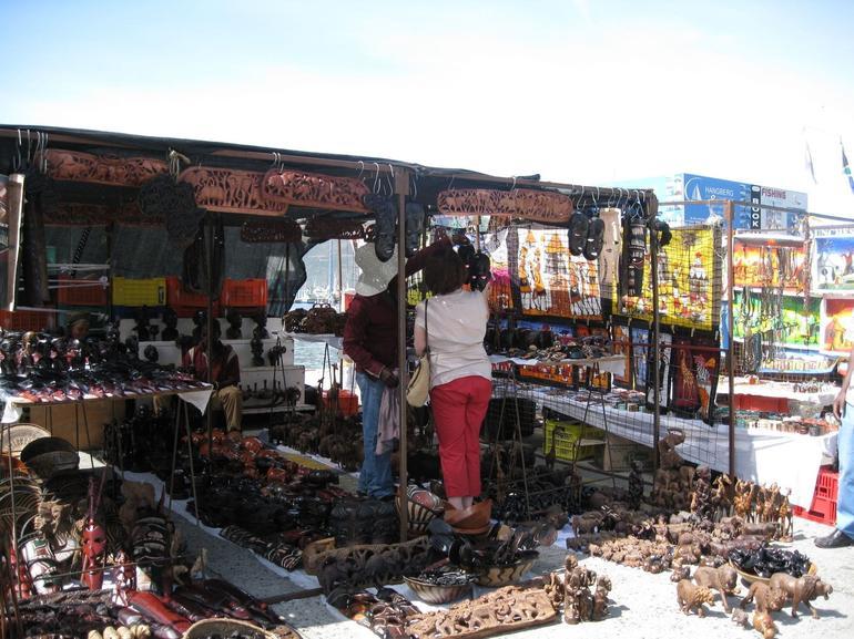 Craft market, en route to Cape Point - Cape Town