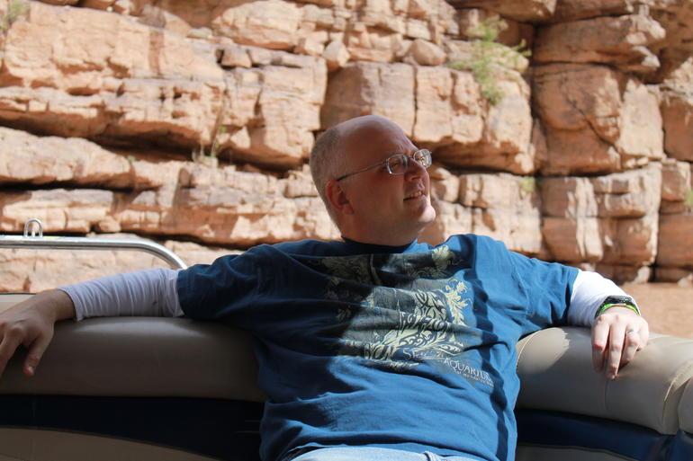 Enjoying the sights - Grand Canyon National Park