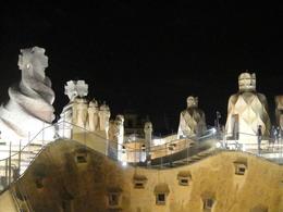 Gaudí's La Pedrera at Night - June 2012